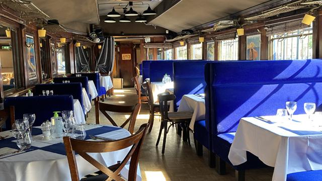 Wagon Interior View